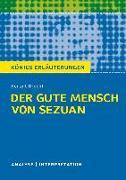 Cover-Bild zu Bertolt Brecht: Der gute Mensch von Sezuan von Brecht, Bertolt