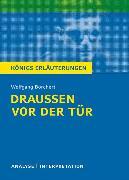 Cover-Bild zu Wolfgang Borchert: Draußen vor der Tür von Borchert, Wolfgang
