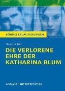 Cover-Bild zu Heinrich Böll: Die verlorene Ehre der Katharina Blum von Böll, Heinrich