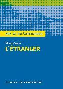 Cover-Bild zu Albert Camus: L'Étranger - Der Fremde von Camus, Albert