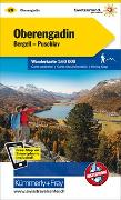 Cover-Bild zu Oberengadin, Bergell, Puschlav Wanderkarte Nr. 28. 1:60'000 von Hallwag Kümmerly+Frey AG (Hrsg.)
