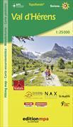 Cover-Bild zu TopoRando Val d'Hérens. 1:25'000