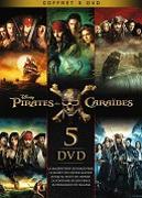 Cover-Bild zu Intégral - Pirates des Caraïbes 1-5 - édition limitée von Verbinski, Gore (Reg.)
