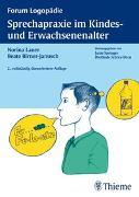 Cover-Bild zu Sprechapraxie im Kindes- und Erwachsenenalter von Lauer, Norina