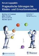 Cover-Bild zu Pragmatische Störungen im Kindes- und Erwachsenenalter (eBook) von Sallat, Stephan