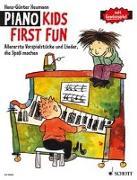Cover-Bild zu Piano Kids First Fun von Heumann, Hans-Günter
