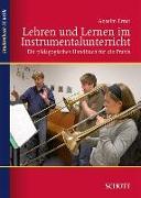 Cover-Bild zu Lehren und Lernen im Instrumentalunterricht von Ernst, Anselm