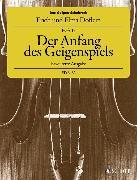 Cover-Bild zu Das Geigen-Schulwerk von Doflein, Elma