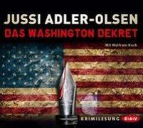 Cover-Bild zu Das Washington Dekret von Adler-Olsen, Jussi