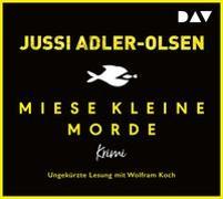 Cover-Bild zu Miese kleine Morde. Crime Story von Adler-Olsen, Jussi