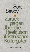 Cover-Bild zu Zurückgeben (eBook) von Sarr, Felwine