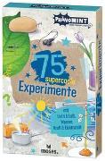 Cover-Bild zu PhänoMINT 75 supercoole Experimente mit Licht & Luft, Wasser, Kraft & Elektrizität von van Saan, Anita