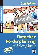 Cover-Bild zu Ratgeber Förderplanung (eBook) von Heimlich, U.