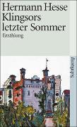 Cover-Bild zu Hesse, Hermann: Klingsors letzter Sommer