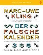 Cover-Bild zu Kling, Marc-Uwe: Der falsche Kalender