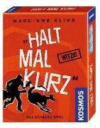 Cover-Bild zu Kling, Marc-Uwe: Halt mal kurz