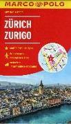 Cover-Bild zu MARCO POLO Cityplan Zürich 1:12 000. 1:15'000