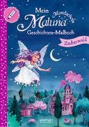 Cover-Bild zu Schütze, Andrea: Mein Maluna Mondschein Geschichten-Malbuch