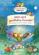 Cover-Bild zu Jetzt wird geschlafen, Freunde! Gutenachtgeschichten mit Tiger und Bär von Fickel, Florian