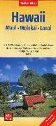 Cover-Bild zu Nelles Map Landkarte Hawaii : Maui, Molokai, Lanai. 1:150'000