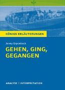 Cover-Bild zu Erpenbeck, Jenny: Königs Erläuterungen: Gehen, ging, gegangen von Jenny Erpenbeck