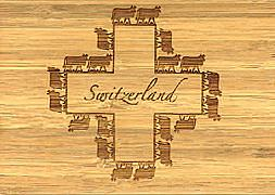 Cover-Bild zu PK Bambus Kreuz Swiss Icons106