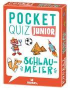 Cover-Bild zu Pocket Quiz junior Schlaumeier von Berger, Nicola
