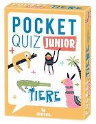 Cover-Bild zu Pocket Quiz junior Tiere von T & T media world - Die Ideealisten