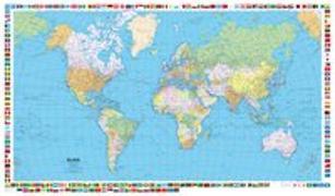 Cover-Bild zu Welt politisch Laminiert. 1:50'000'000