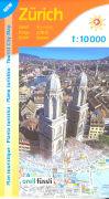 Cover-Bild zu Zürich Tourist City Map. 1:10'000