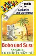 Cover-Bild zu Wagener, Gerda: Konstantin, das musikalische Krokodil /Bobo und Susu, als der Elefant sich in eine Maus verliebte