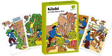 Cover-Bild zu Schmid, Heiri (Illustr.): Globi auf dem Bauernhof
