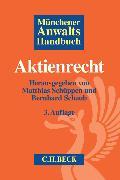 Cover-Bild zu Schüppen, Matthias (Hrsg.): Münchener Anwaltshandbuch Aktienrecht