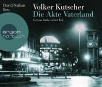 Cover-Bild zu Kutscher, Volker: Die Akte Vaterland