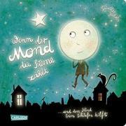 Cover-Bild zu Jakobs, Günther: Wenn der Mond die Sterne zählt ... und dem Kind beim Schlafen hilft