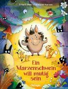 Cover-Bild zu Dietl, Erhard: Ein Warzenschwein will mutig sein
