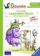 Cover-Bild zu Fix, Patrick (Einbandgest.): Das große Leseraben-Buch: Quatschgeschichten - Leserabe ab 1. Klasse - Erstlesebuch für Kinder ab 5 Jahren