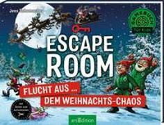 Cover-Bild zu Schumacher, Jens: Escape Room - Flucht aus dem Weihnachts-Chaos