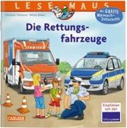 Cover-Bild zu Tielmann, Christian: LESEMAUS 158: Die Rettungsfahrzeuge
