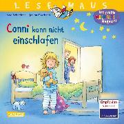 Cover-Bild zu Schneider, Liane: LESEMAUS 78: Conni kann nicht einschlafen