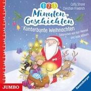Cover-Bild zu 1-2-3 Minutengeschichten. Kunterbunte Weihnachten von Stronk, Cally