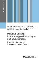 Cover-Bild zu Inklusive Bildung in Kindertageseinrichtungen und Grundschulen von Maykus, Stephan (Hrsg.)