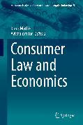 Cover-Bild zu Mathis, Klaus (Hrsg.): Consumer Law and Economics (eBook)