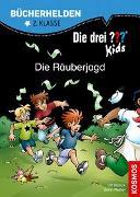 Cover-Bild zu Die drei ??? Kids, Bücherhelden 2. Klasse, Die Räuberjagd von Blanck, Ulf