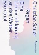 Cover-Bild zu Sauer, Christian: Regen