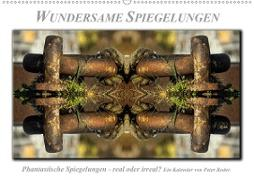 Cover-Bild zu Wundersame Spiegelungen (Wandkalender 2021 DIN A2 quer) von Roder, Peter