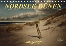 Cover-Bild zu Nordsee-Dünen, Vintage-Style / Geburtstagskalender (Tischkalender 2021 DIN A5 quer) von Roder, Peter