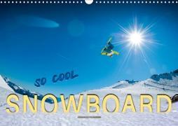 Cover-Bild zu Snowboard - so cool (Wandkalender 2021 DIN A3 quer) von Roder, Peter