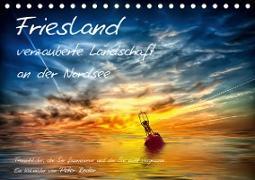 Cover-Bild zu Friesland - verzauberte Landschaft an der Nordsee / CH-Version (Tischkalender 2021 DIN A5 quer) von Roder, Peter