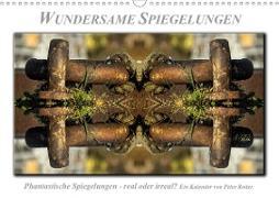 Cover-Bild zu Wundersame Spiegelungen (Wandkalender 2021 DIN A3 quer) von Roder, Peter